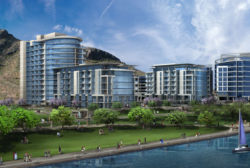 Bridgeview- Tempe Town Lake Condos - Hayden Ferry Lakeside