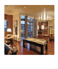 Orchidhouse condos- Brickyard on Mill - Penthouse Loft